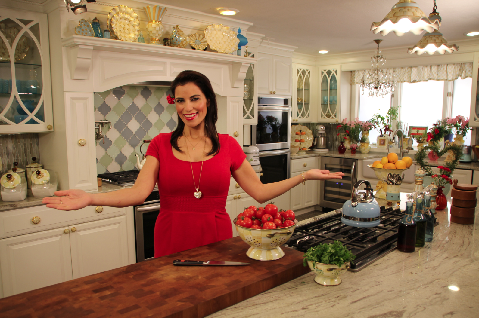 5 Minutes With Famous Foodie Chef Julie Taboulie Famous