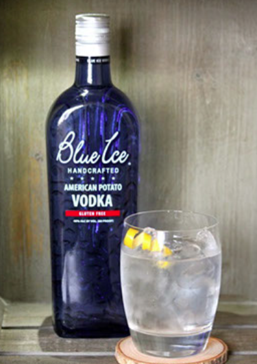 Vodka Lemon Blue Ice Vodka