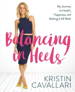 Kristin Cavallari Balancing in Heels is the first book from the reality TV star